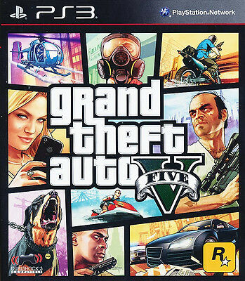 Grand Theft Auto V GTA 5 PS3 Game BRAND NEW *Ship Worldwide*