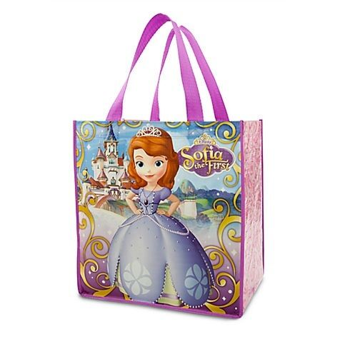 SoFiA the FiRsT~Princess~Reusable~ToTe~Eco~BaG~Disney Junior~NWT~Disney Store