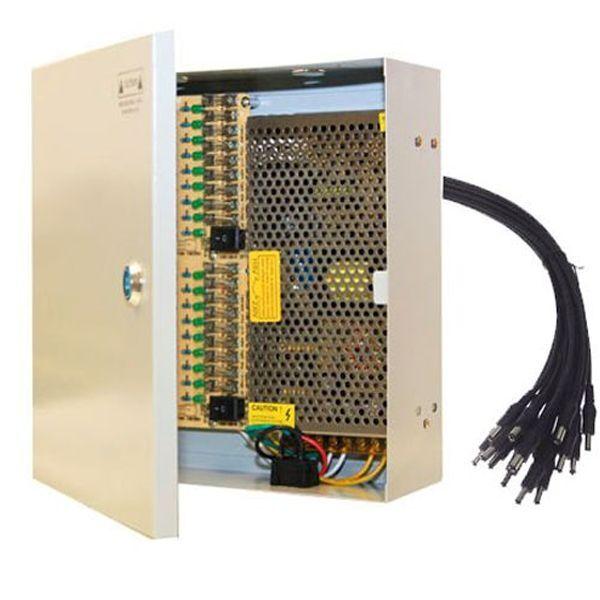 16Ch 18CH CCTV security camera power supply box 12 V DC