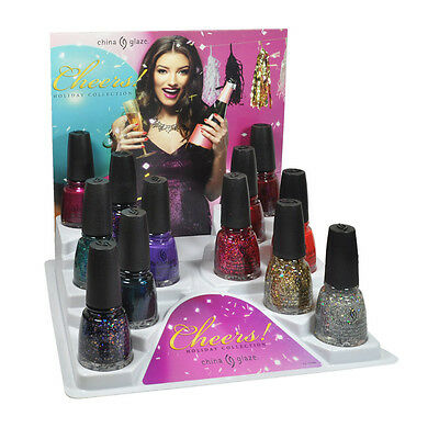 China Glaze Nail Polish Lacquer Cheers Collection 0.5floz *Choose any 1 color*