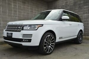 2013 Land Rover Range Rover Supercharged! Massage/Heated/Cooled Leather Seats!