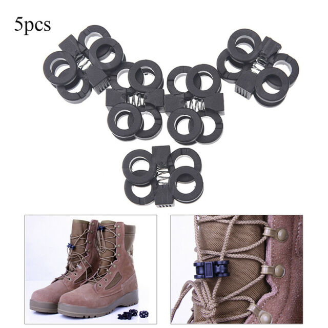 5pcs attach nylon shackle carabiner d-ring clip webbing backpack buckle CA*