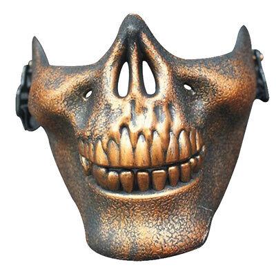 Medio Rostro Calavera Máscara Halloween Esqueleto las máscaras de terror