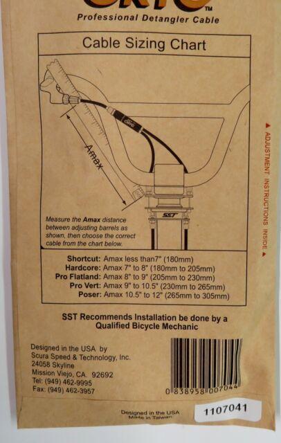 NEW IN BOX SST ORYG BMX Gyro Brake Upper Poser swivel end Amax 10.5/'/' to 12/'/'