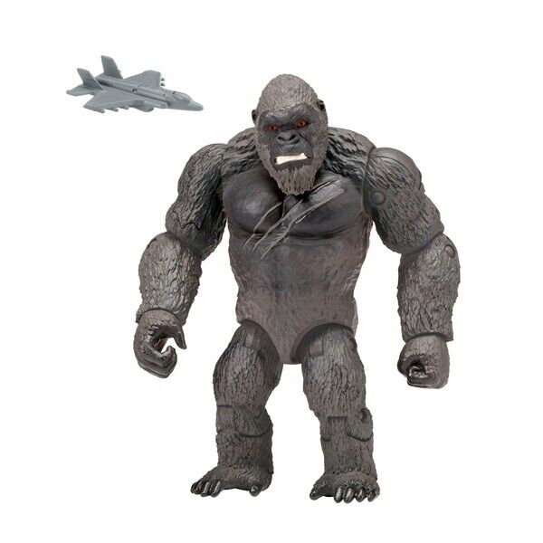 KONG WITH FIGHTER JET - Monsterverse Godzilla Vs Kong NEW
