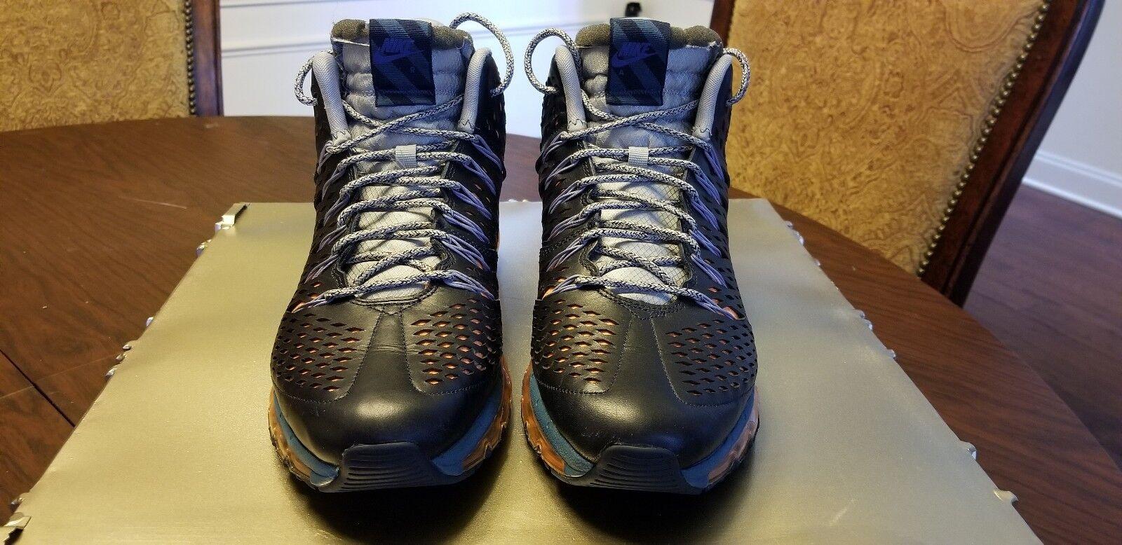 nike air max blau hybrid so stiefel blau max / orange 5e6ea4
