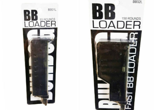 Bulldog Airsoft BB 6mm BB Speed Loader Softair Bullet Ammo 90 /& 150 Rounds