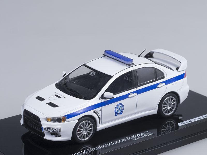1 43 Scale model Mitsubishi Lancer Evolution X Greece Police