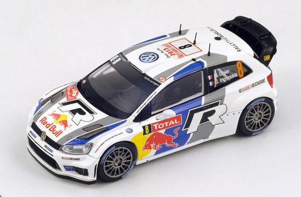 SPARK Volkswagen Polo WRC nd Rallye de Monte Carlo 2013 S. Ogier S3359 1 43