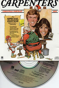 Carpenters Christmas Portrait.Details About Carpenters Christmas Portrait Special Edition A M Audio Masters Series Cd