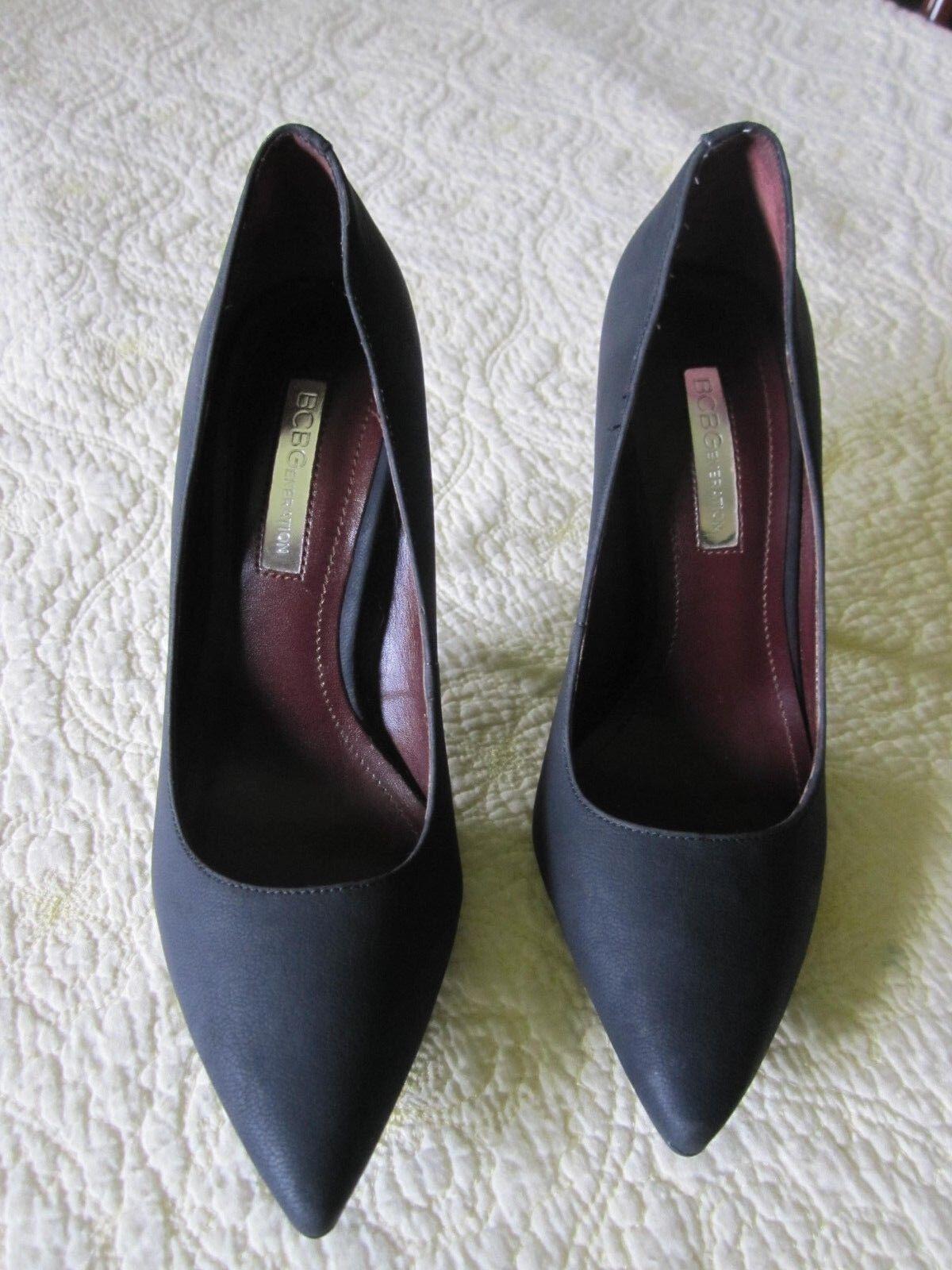 Pre Black Owned Women BCBGeneration Black Pre Stiletto Shoes Sz 5M/35 eb16a0