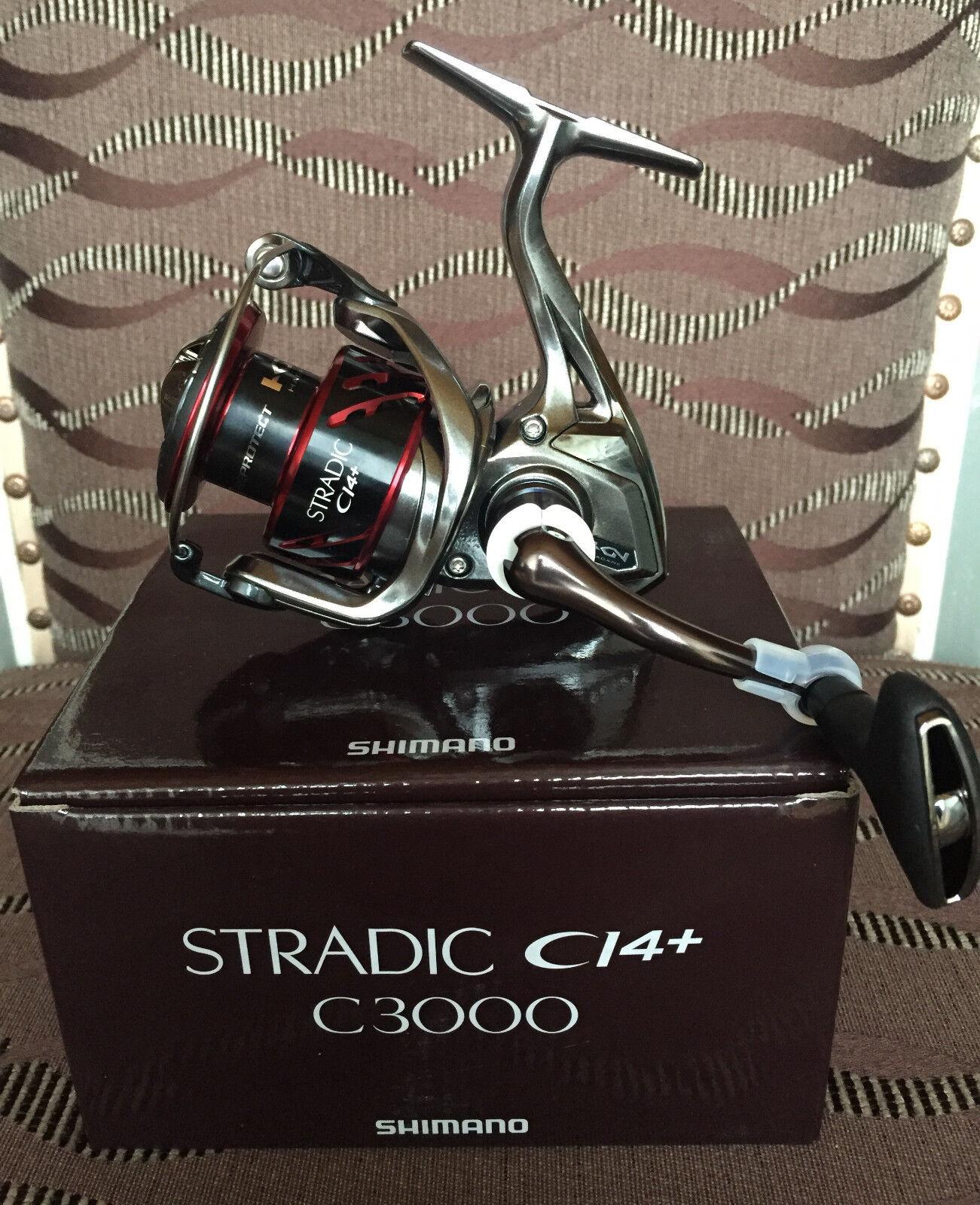 Shimano Stradic ci4 c3000 FB spinnrolle
