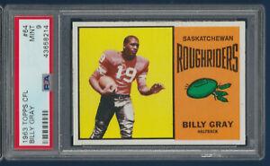 BILLY-GRAY-1964-TOPPS-CFL-NO-64-PSA-9-35553