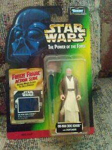 Kenner Star Wars Power of the Force Obi-Wan New! Kenobi Freeze Frame Ben