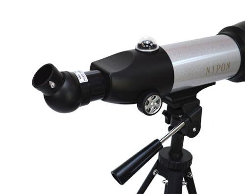"350x70 Rich-field refractor telescope with finder scope Standard 1.25/"" eyepiece"