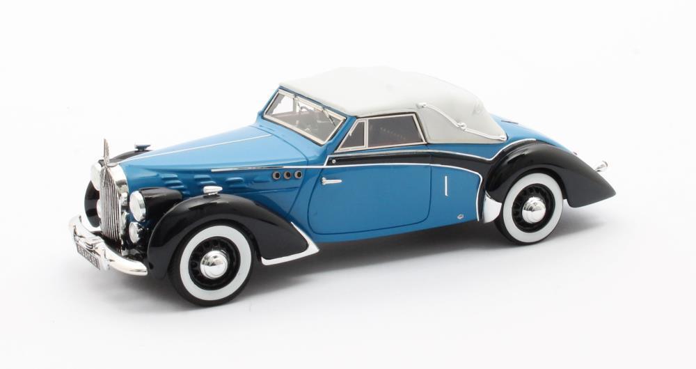 Voisin C30 Goëlette Cabriolet Dubos - Version Fermé - 1938     Matrix 1 43