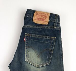 Levi-039-s-Strauss-amp-Co-Hommes-518-04-Jeans-Jambe-Droite-Taille-W29-L34-ARZ880