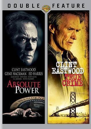 Absolute Power/True Crime (DVD, 2014, 2-Disc Set) Clint Eastwood  BRAND NEW