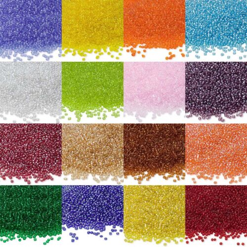 Lot of 900 Ming Tree Economical 11//0 Rocaille 1.8mm Small Round Glass Seed Beads