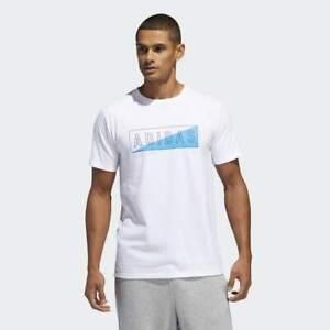 BRAND-NEW-30-adidas-Men-039-s-SPLIT-BOX-TEE-WHITE-DV1887