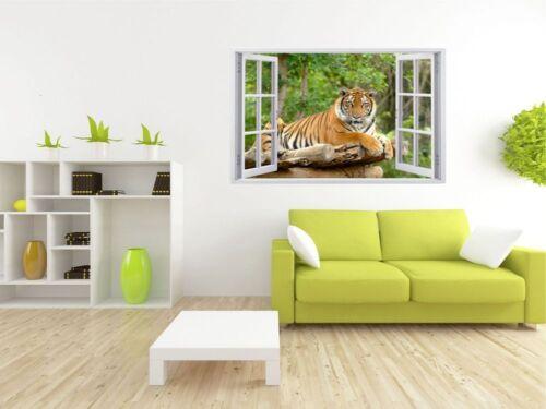 Tiger Tier Wildnis Wandtattoo Wandsticker Wandaufkleber F0096