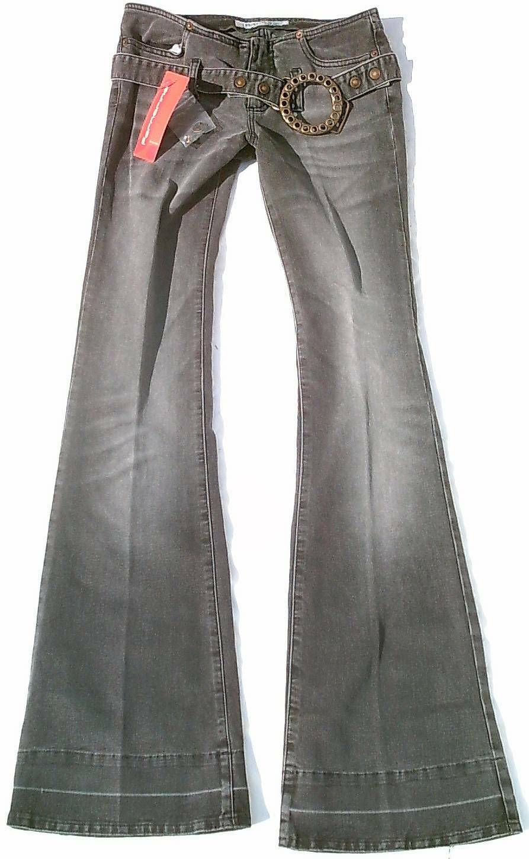 Fornarina Kaput Jupe Diva Miss Vintage Modèle Vip Jeans Inclus Ceinture W27 L34
