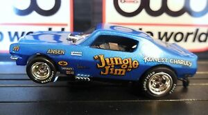 AUTO WORLD ~ Jungle Jim '71 Chevy Camaro Funny Car ~In Jewel Case ~ FITS AFX, AW