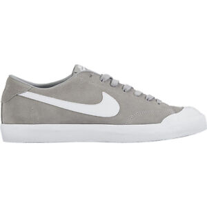 sells release info on details for Details about Nike ZOOM ALL COURT CK Wolf Grey White Casual Skate  806306-011 (601) Men's Shoes