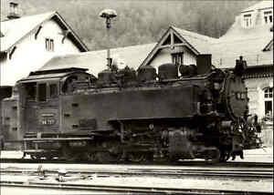 DDR-Sammelbild-Foto-AK-Dampflokomotive-Eisenbahn-Schmalspur-Lok-Baureihe-Typ-99