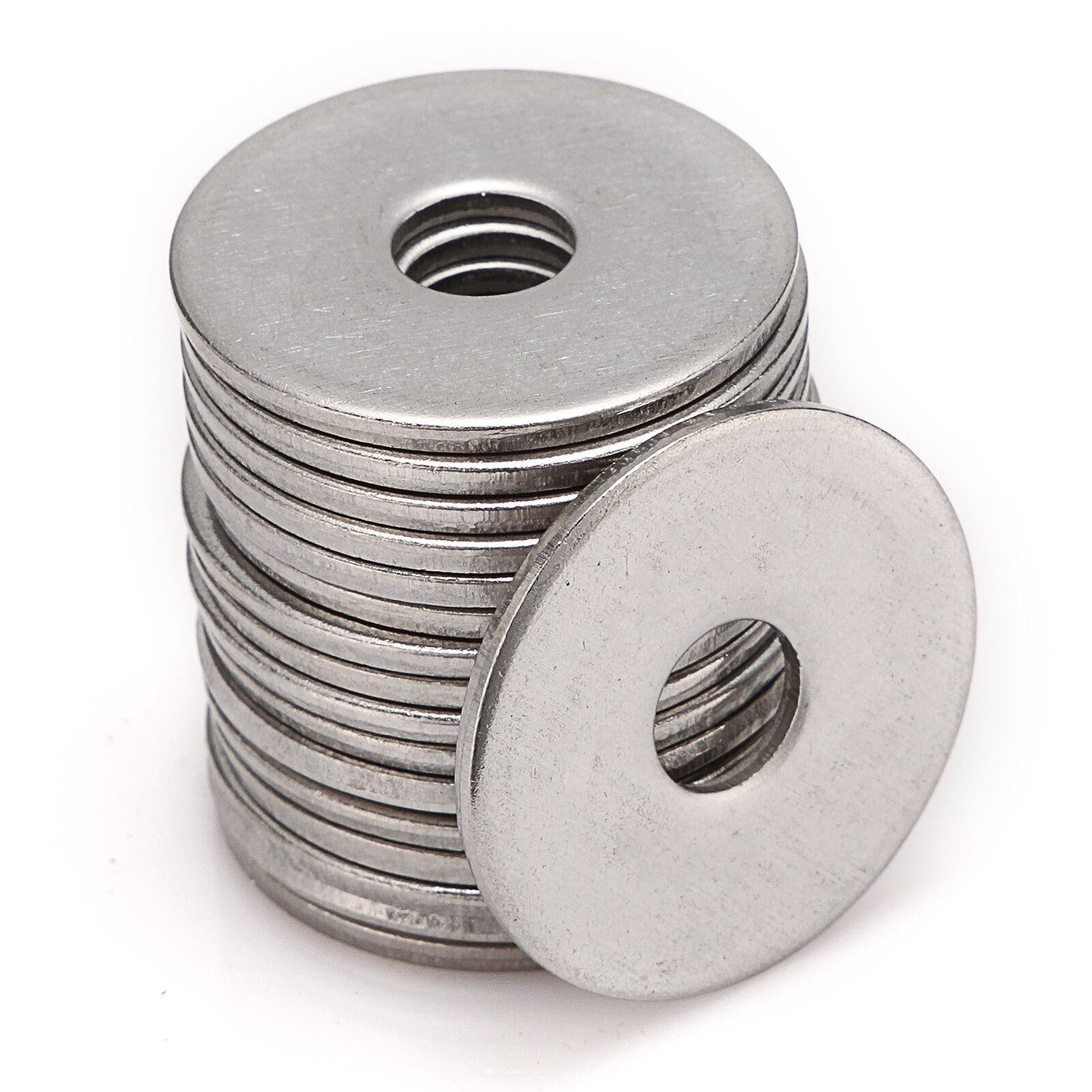 M3 M4 M5 M6 M8 M10 M12 M14 M16 M20 A2 Stainless Steel Penny Repair Flat Washers 2