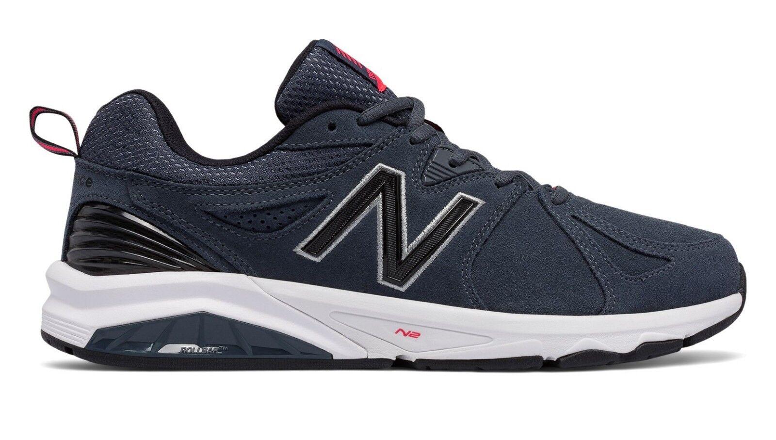 New Balance MX857CH2 Men's 857v2 blu Suede Trainer Everyday Training scarpe