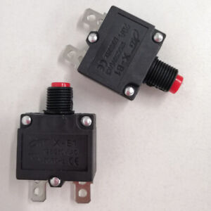 Fuse Resettable Overload Reset Button Protector Switch Circuit Breaker