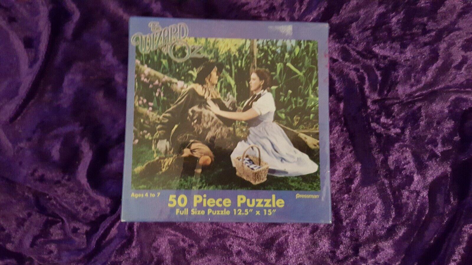 Der zauberer von oz 50 stck puzzle von pressman jigsaw - dGoldthy und die vogelscheuche