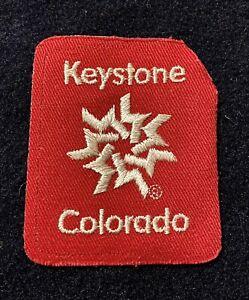 Keystone Colorado Souvenir Ski Snowboard Patch