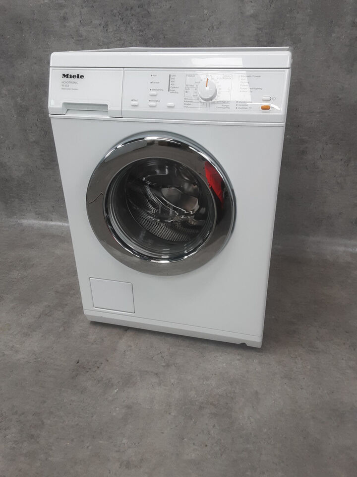 Miele vaskemaskine på 6 kg - Med garanti