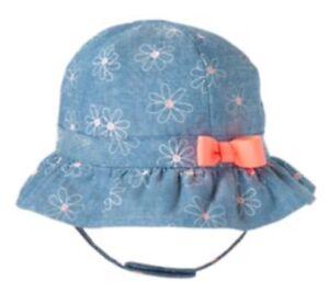 Gymboree Baby Lemon Bumblebee Flower Hat Baby Girls Size 3-6 Months NEW NWT