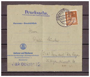 Allies-Occupation-Drucksache-Minr-74-Hanovre-apres-Ferndorf-12-11-1948
