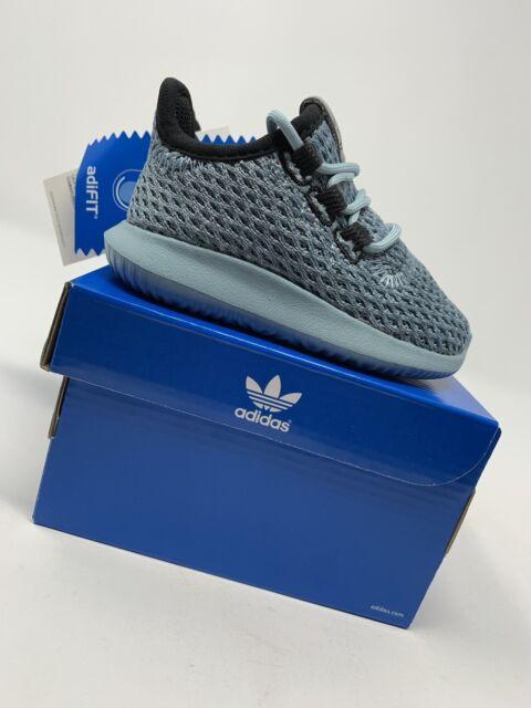 TODDLER BOYS: Adidas Originals Tubular Shadow Shoes, Blue Size 4C B96406