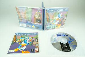 Sega-Dreamcast-Donald-Duck-QUACK-ATTACK-Neuf-dans-sa-boite-avec-mode-d-039-emploi
