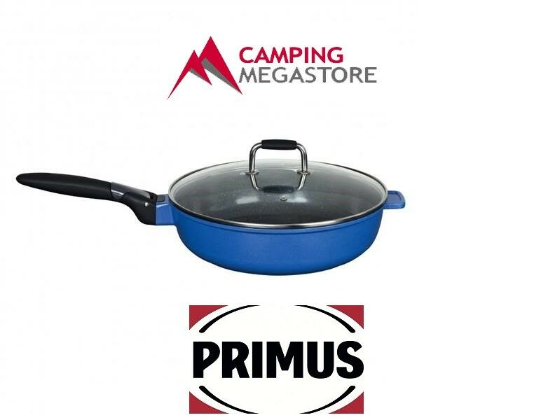 PRIMUS PREMIUM CERAMIC COATED DEEP FRYPANS WITH LID 28CM