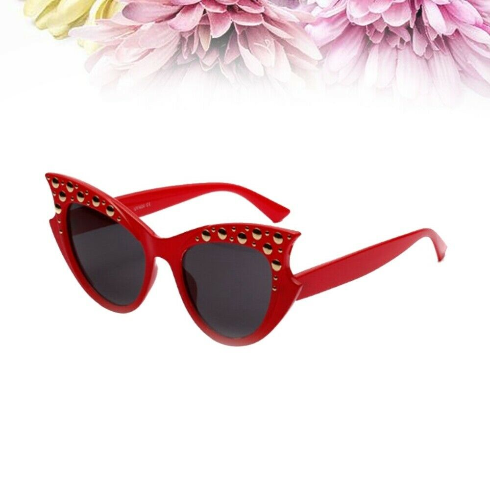 1 Pair Sunglasses Luxury Fashion Chic Sunglasses for Outdoor Girls Summer