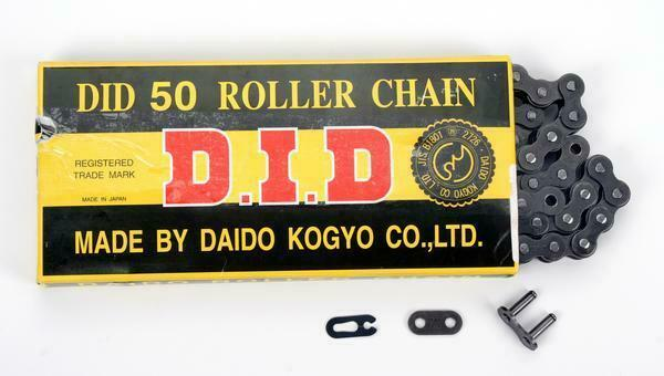 D.I.D 520 STD Standard Series Non O-Ring Chain 112 Links Natural D18-521-112