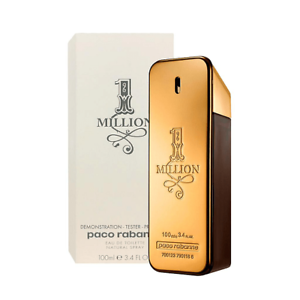 Brand-New-Paco-Rabanne-Tester-1-Million-100ml-Eau-de-Toilette-Spray