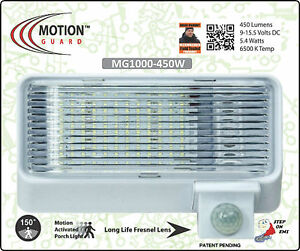 Rv motion security lightrvboatsolar housestorage mg1000 450w image is loading rv motion security light rv boat solar house audiocablefo