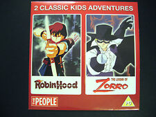 ROBIN HOOD/THE LEGEND OF ZORRO 2 FILMS, A THE PEOPLE NEWSPAPER PROMOTION (1 DVD)