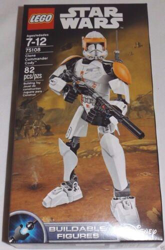 LEGO Star Wars CLONE COMMANDER CODY 75108 Buildable Figure Disney Clone Wars