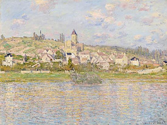 Claude Monet  Vetheuil Keilrahmen-Bild Leinwand Klassiker