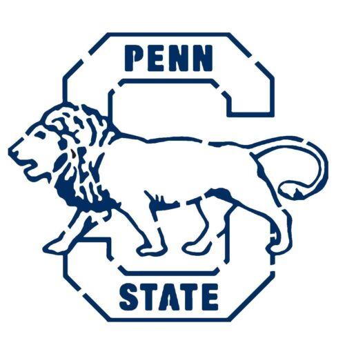 10 Mil Mylar Penn State Nittany Lions Stencil Reusable Pattern