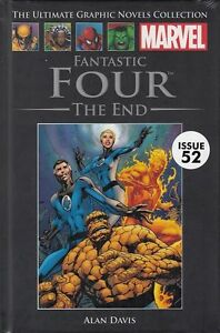 MARVEL-ULTIMATE-GRAPHIC-NOVEL-COLL-52-034-FANTASTIC-4-THE-END-034-FREE-UK-P-P-LAST1