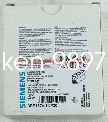 1pcs Siemens Time Relay 3RP1574-1NP30 NEW IN BOX